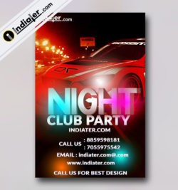 PARTY FLYER TEMPLATE- V-1