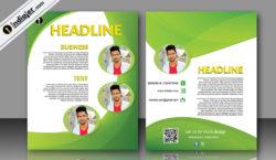 free-bi-fold-business-corporate-brochure-template