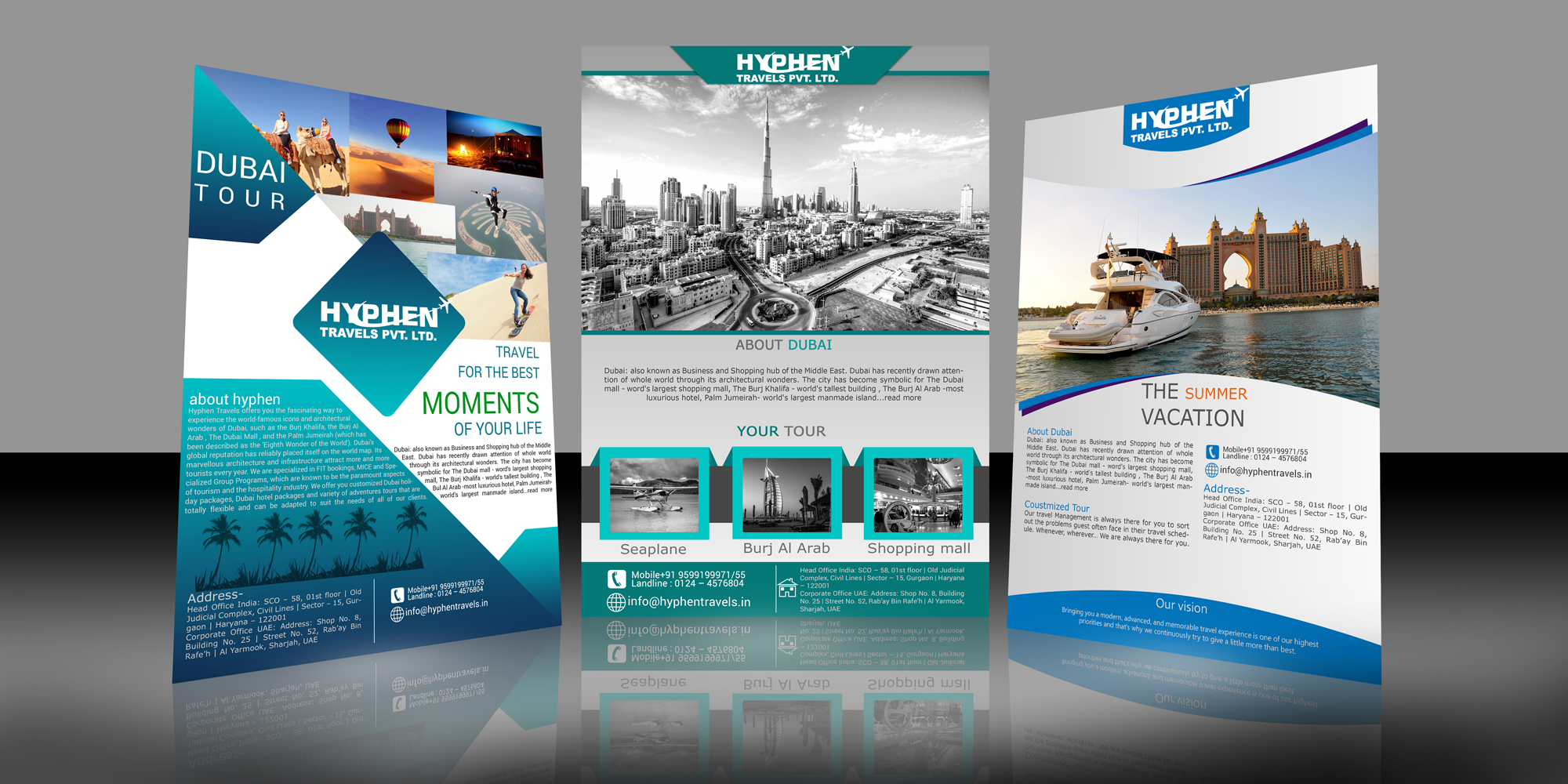 free 40  travel flyer templates