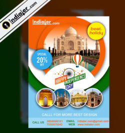india-visit-on-independence-day-travel-flyer-psd