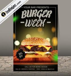 free-burger-restaurant-flyer-template