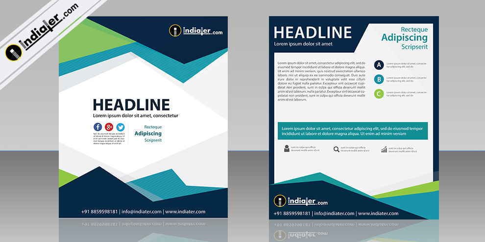 Free Company Brochure Templates Indiater