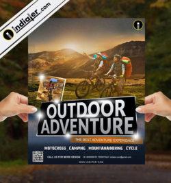 adventure flyer template