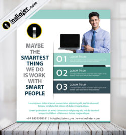 free-business-flyer-infographic-design-template