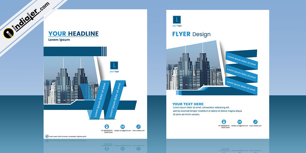 Free Business Brochure Template Indiater