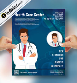 medical & health flyer template v 2