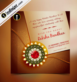 Raksha Bandhan Greeting Template-1