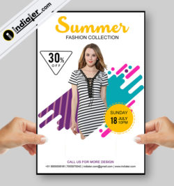 free-sale-fashion-modern-flyer-psd-template