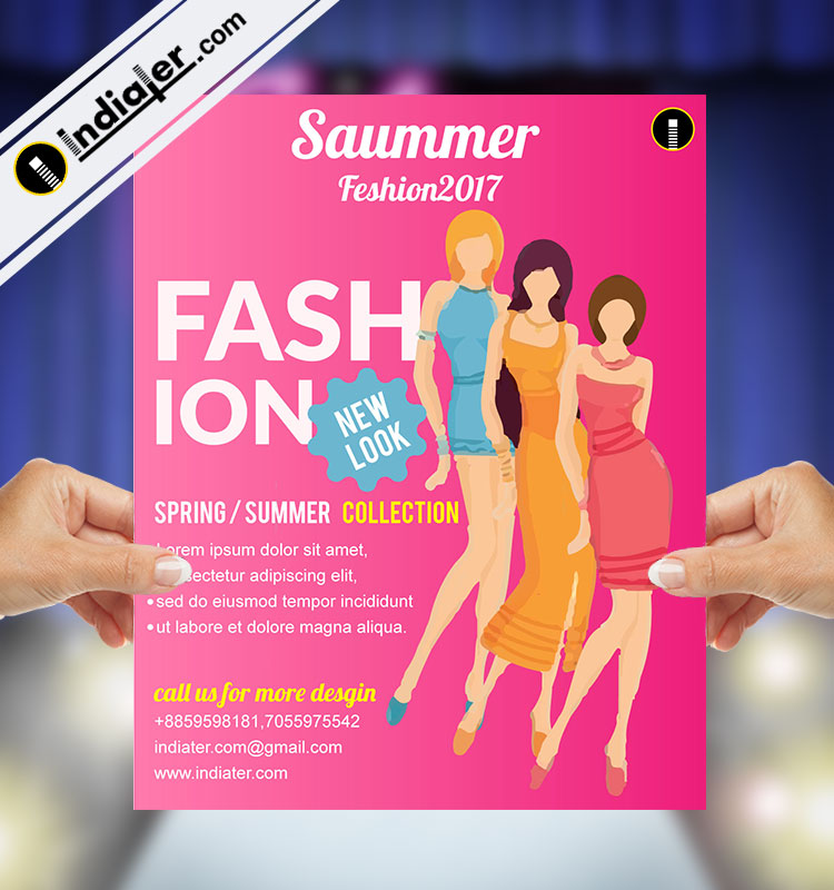 free clothing sale discount flyer template indiater