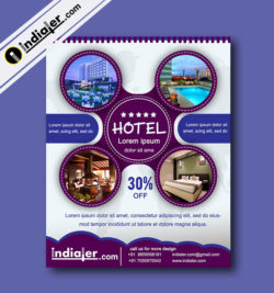 Hotel Promotions Flyer Template v.1