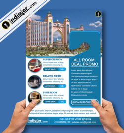 Free Hotel Flyers Archives Indiater - Hotel flyer templates free download