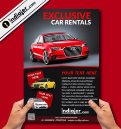 free-exclusive-car-rent-flyer-psd-template