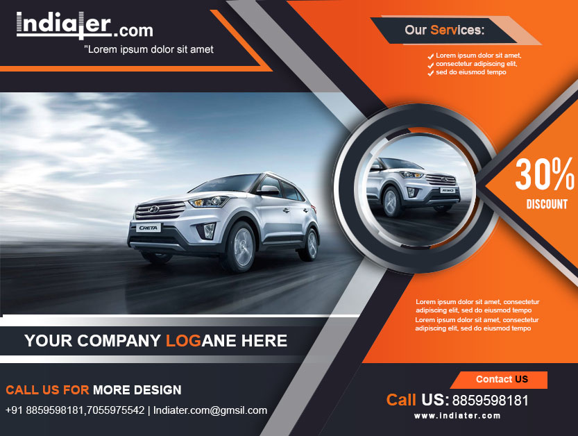 car flyer designs
