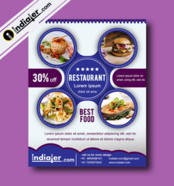 free-restaurant-advertising-flyer-psd-template