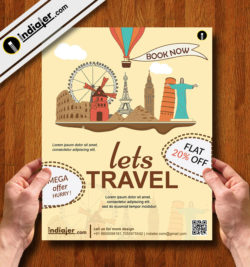 free-holiday-travel-business-flyer-template