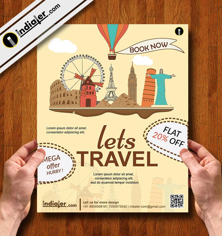 travel flyer template V .6