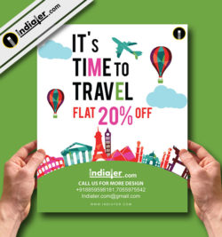 free-travel-weekend-flyer-template