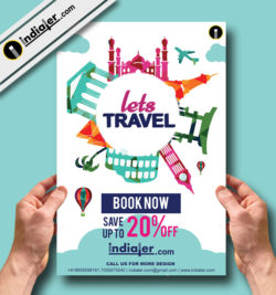 the-world-traveling-free-flyer-template