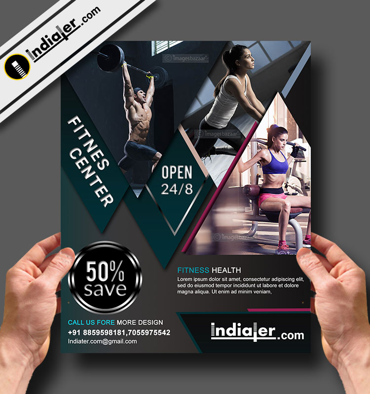 Free Fitness And Gym Offer Flyer Psd Template Indiater