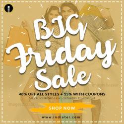 Big Saleac Promotion Flyer Templates