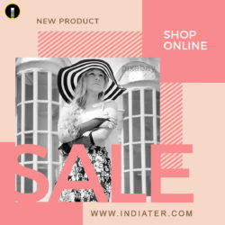 free-online-shopping-sale-fb-post-psd-template