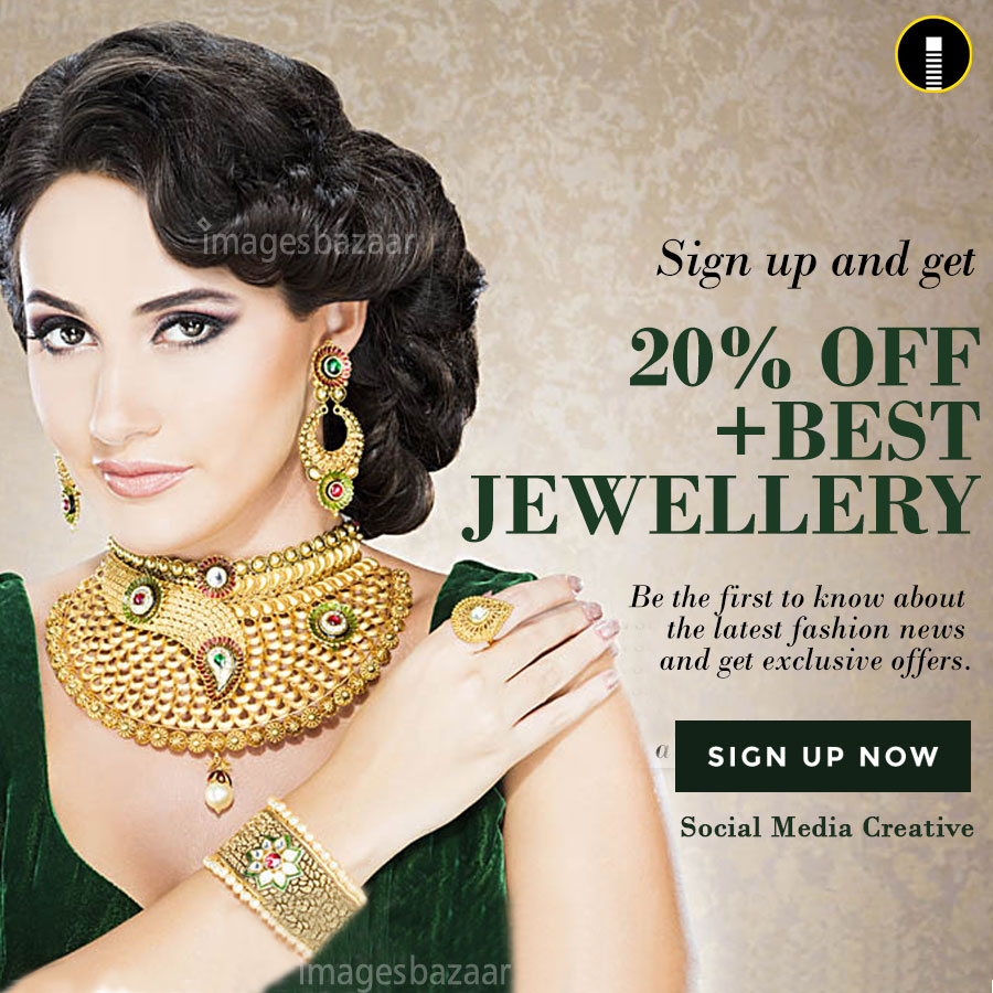 Best Jewellery Advertising Creative Design Indiater