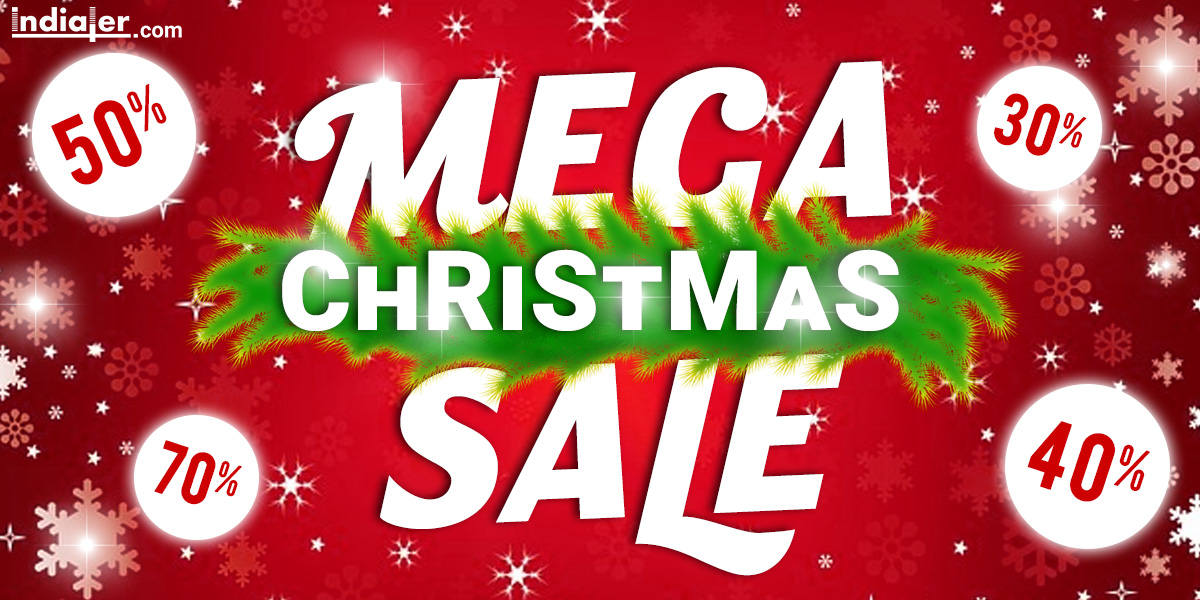 free download merry christmas sale banner template