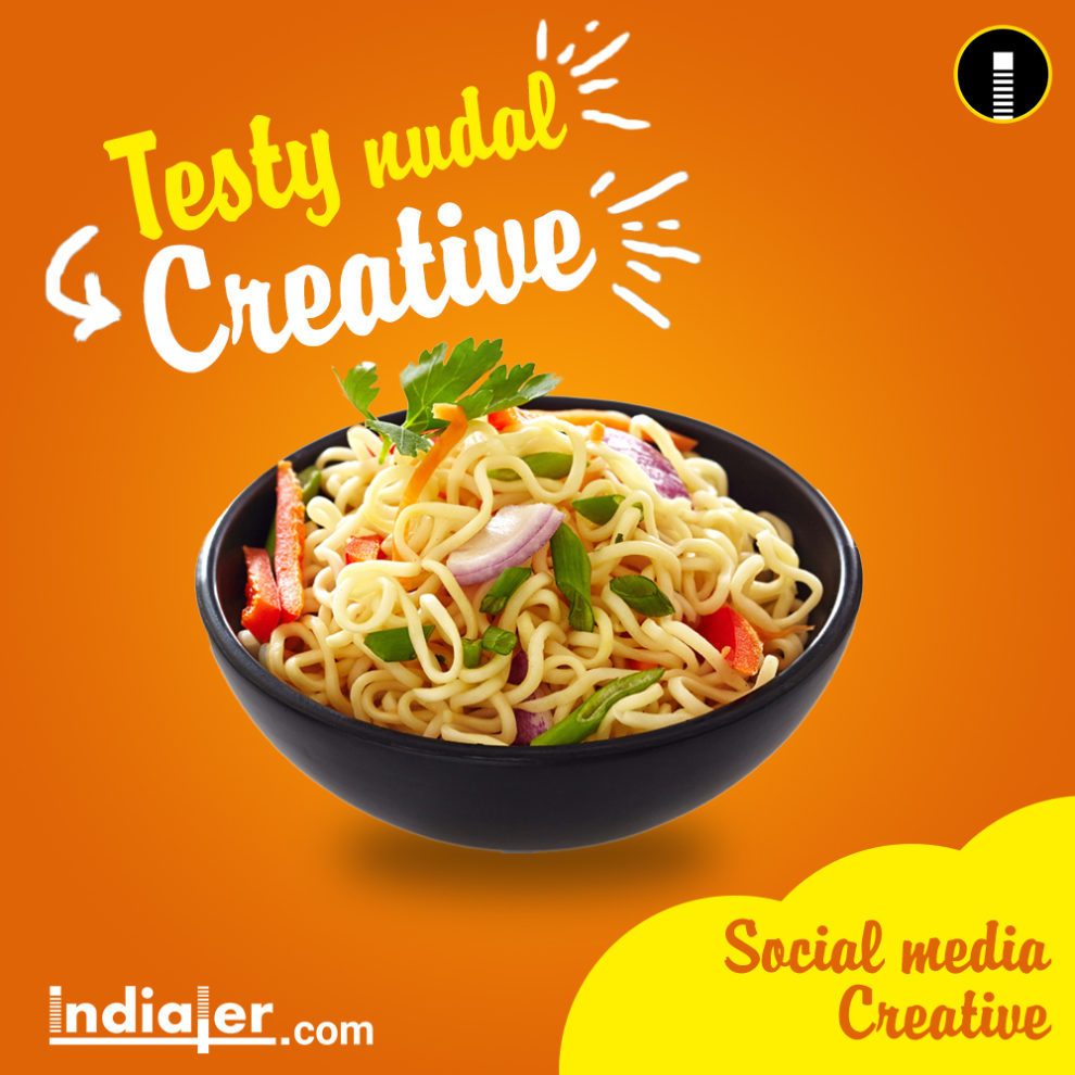 Free Social Media Food Creative Banner PSD - Indiater