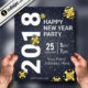 Download the best Free New Year Flyer templates for Photoshop v.2