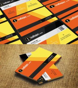 Corporate Business Card PSD Template v.1