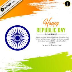 happy-republic-day-celebration-background-national-flag-colors-brush-stroke-ashoka-wheel