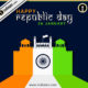 Stock vector celebrates Happy Republic Day