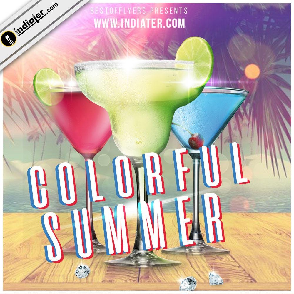tour-beach-party-banner-psd-template
