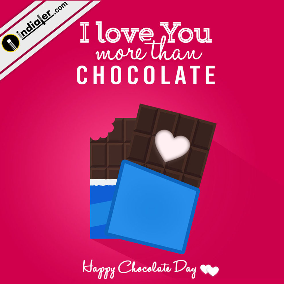 Happy Chocolate Day Greeting Images With Wishes Quotes Psd Indiater