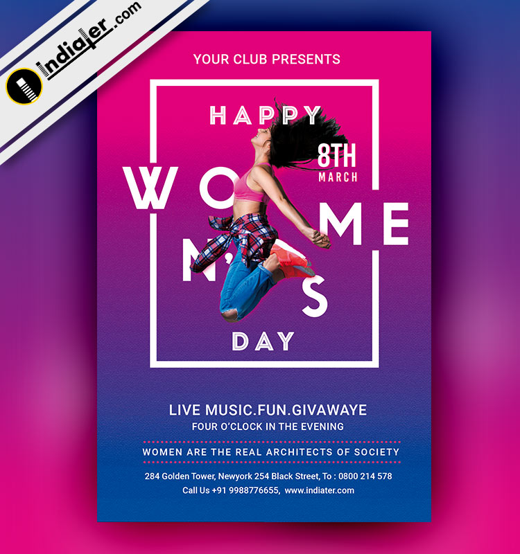 happy-womens-day-free-psd-flyer