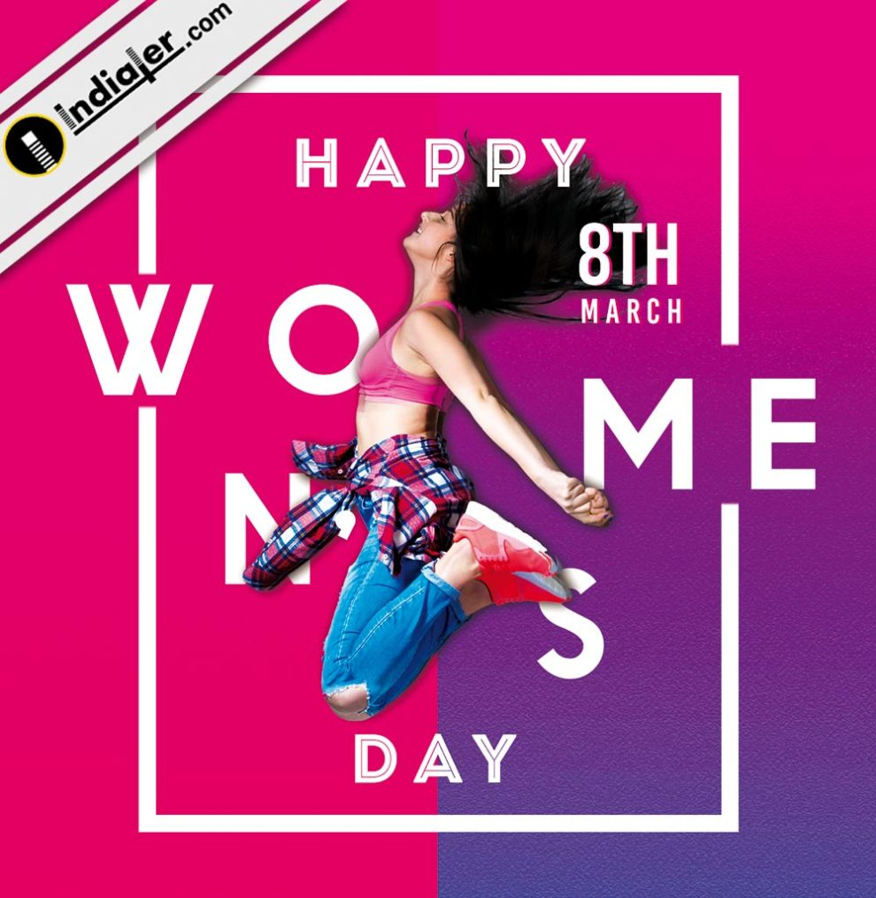 Happy Womens Day Greetings Card Free Psd Indiater
