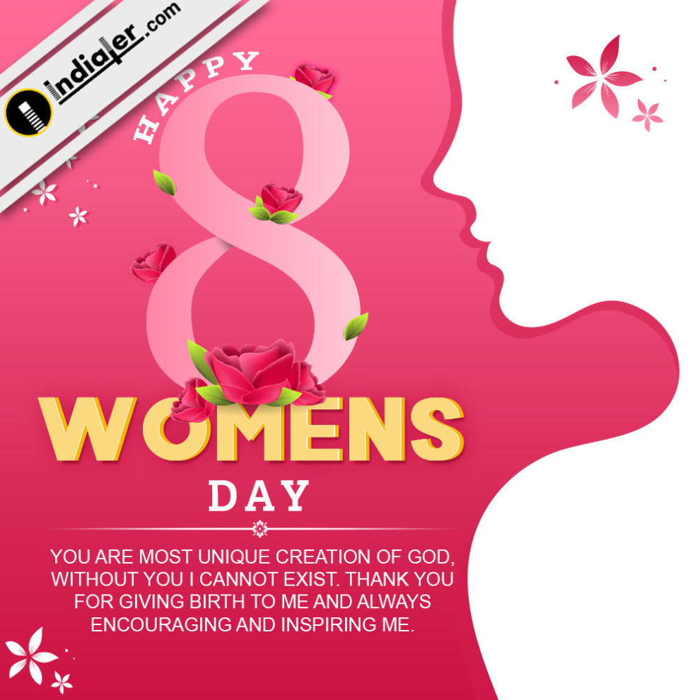 Happy International Womens Day Greetings E Card Psd Indiater