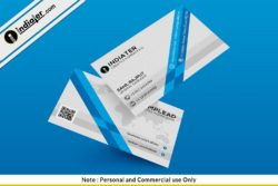 Free Magnificent Business Card PSD Template