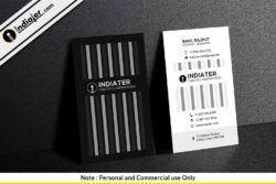 black-and-white-vertical-corporate-business-card-psd