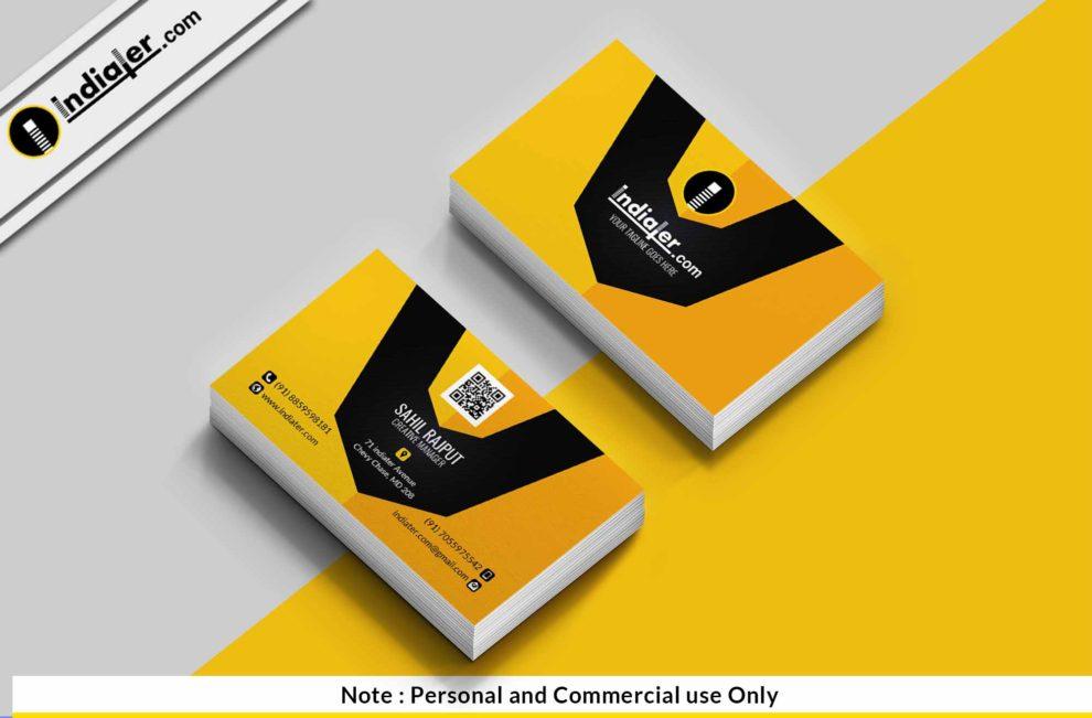 Creative Modern Business Card Psd Template