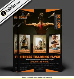 fitness-trainer-pamphlet-psd-template