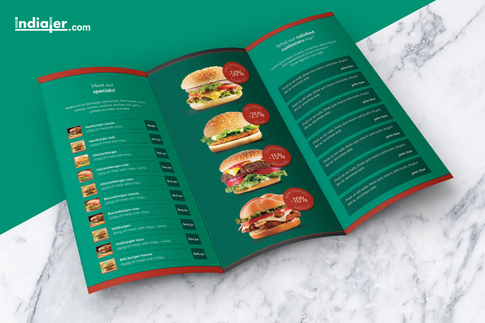 food-menu-tri-fold-brochure-psd-free-inside