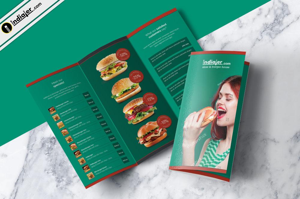 food-menu-tri-fold-brochure-psd-free