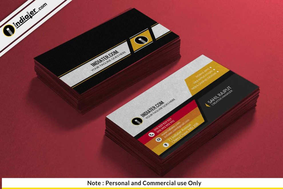 Free automobile business card psd template indiater free automobile business card psd template colourmoves