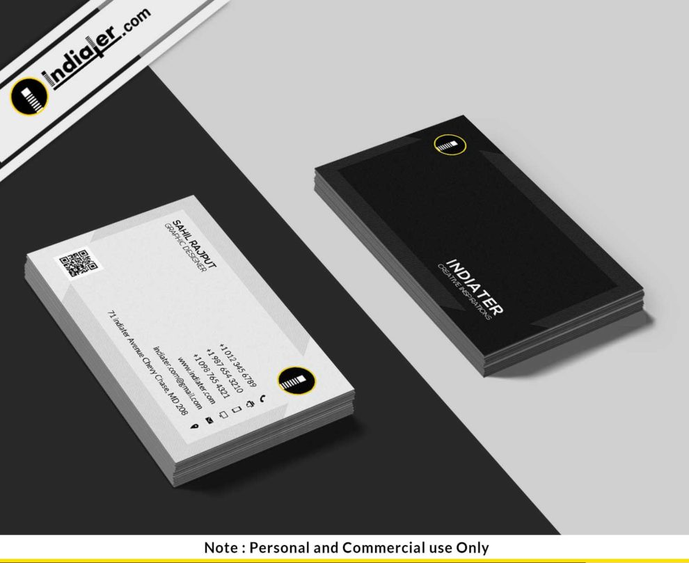 free-black-and-white-corporate-business-card-psd