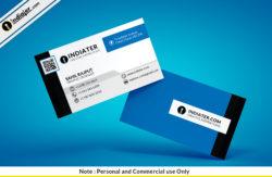 free-blue-minimalist-business-card-psd-template