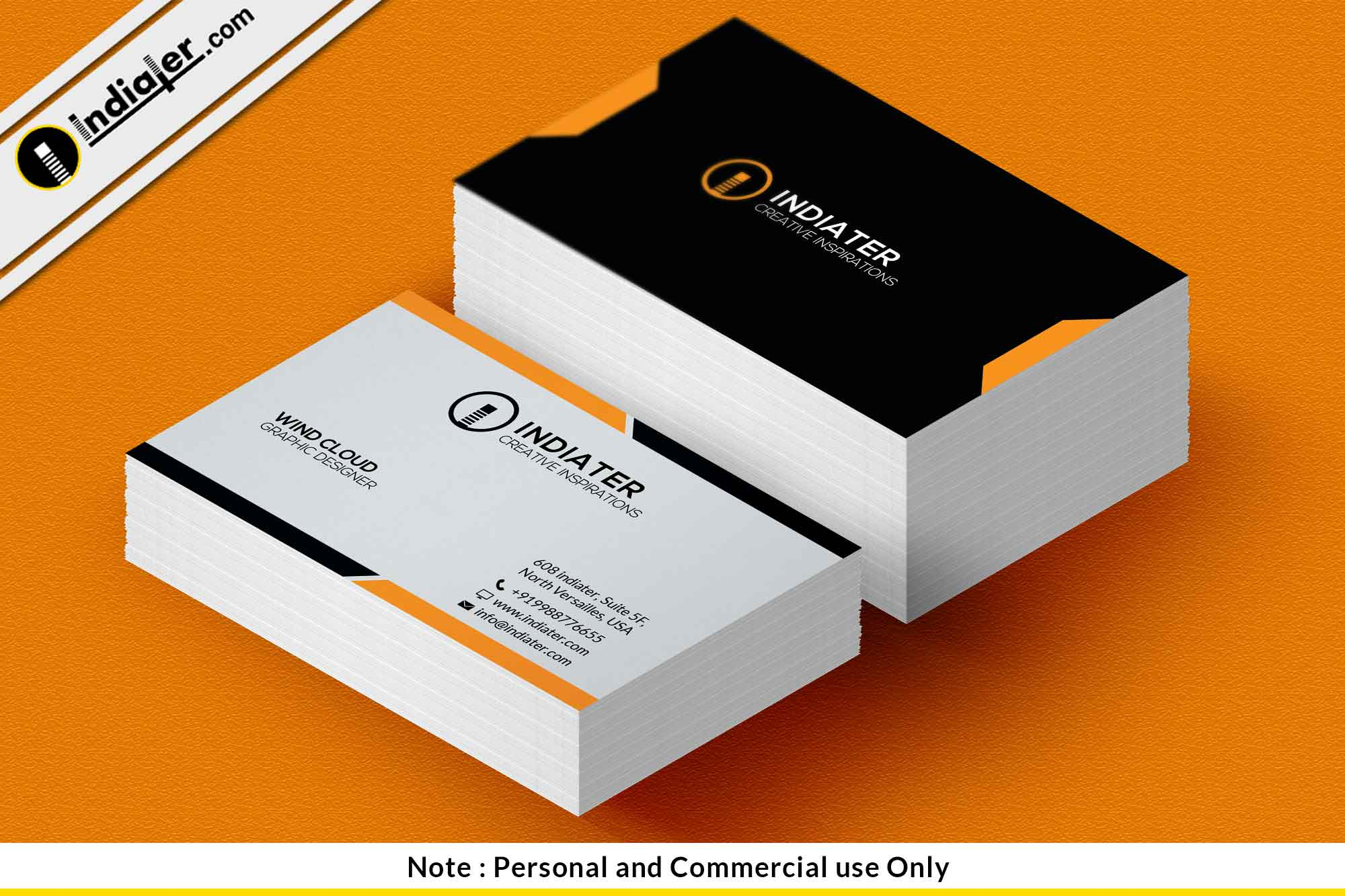 Free business card sample template psd indiater free business card sample template psd reheart