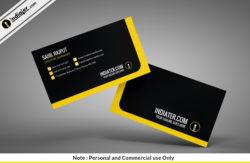 free-clean-minimal-creative-business-card-psd