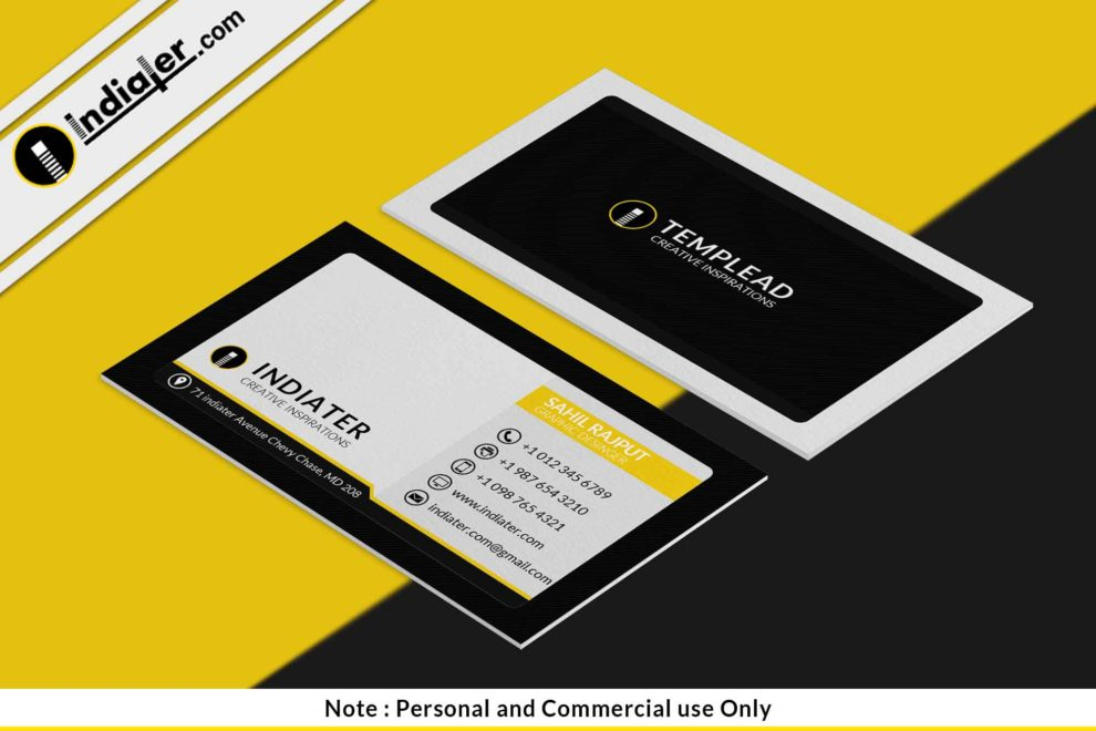 Free corporate company business card psd bundle indiater free corporate company business card psd bundle reheart Images