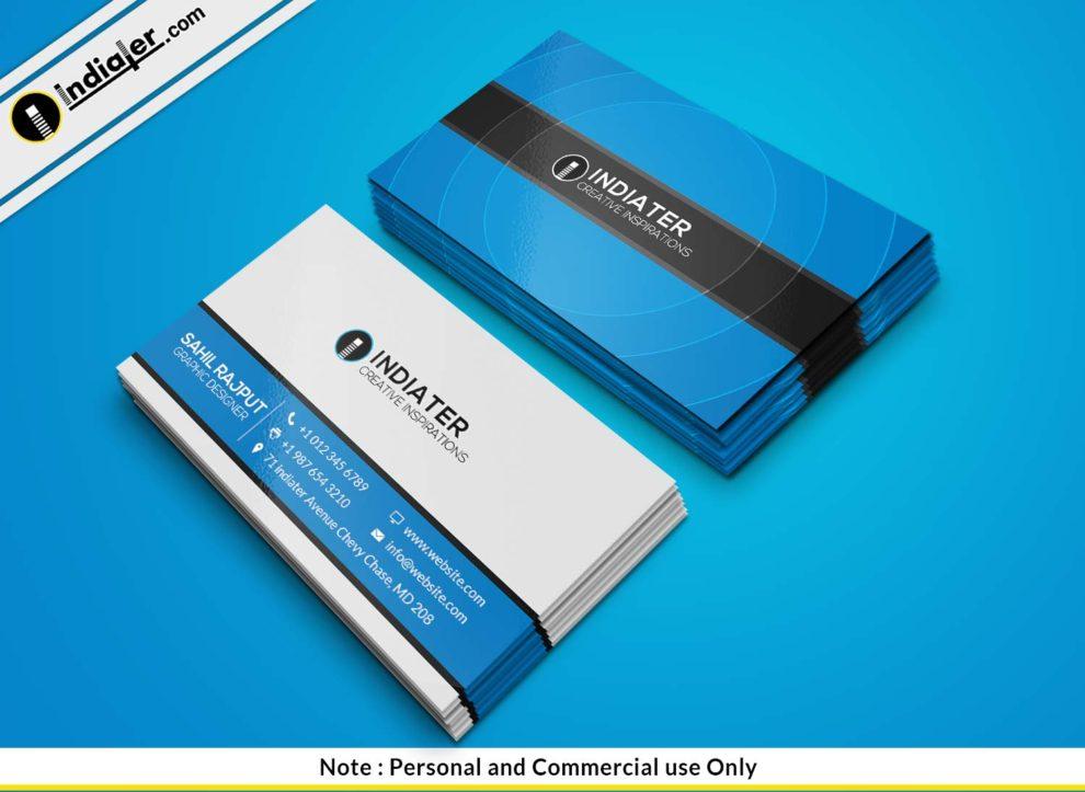 Free design studio modern business card psd template indiater free design studio modern business card psd template friedricerecipe Choice Image